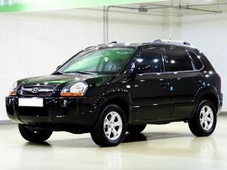 2009 Used HYUNDAI TUCSON 2WD VGT MX STYLE PACK SUV export