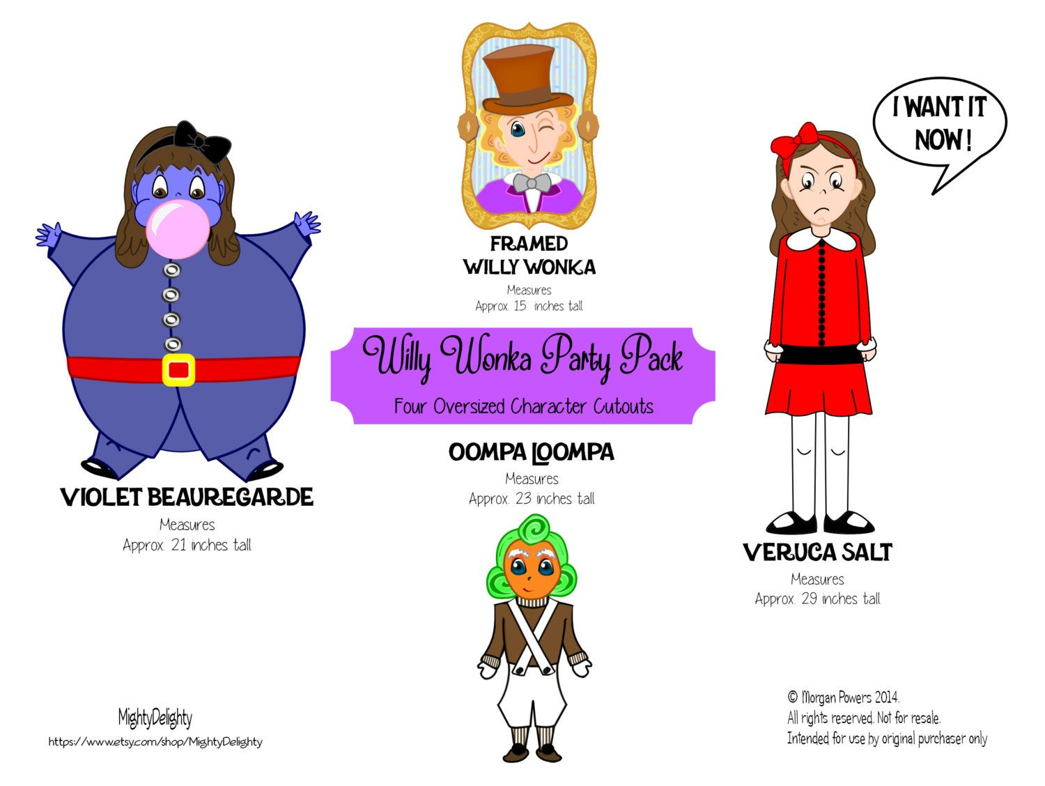 Willy Wonka and the Chocolate Factory Clip Art | Charlie and choc ...