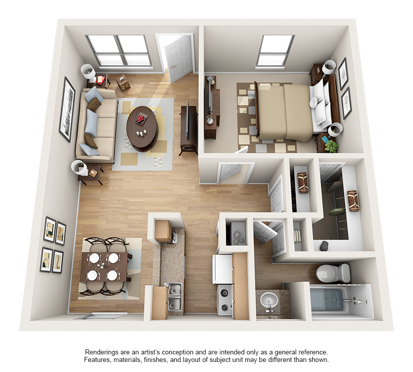 Luxury 1 & 2 Bedroom Apartments In Bellaire