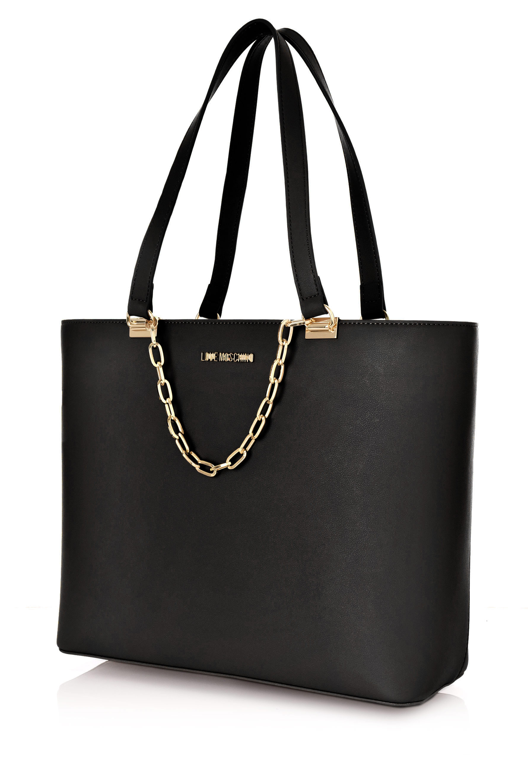 Love Moschino Tote With Chain Black