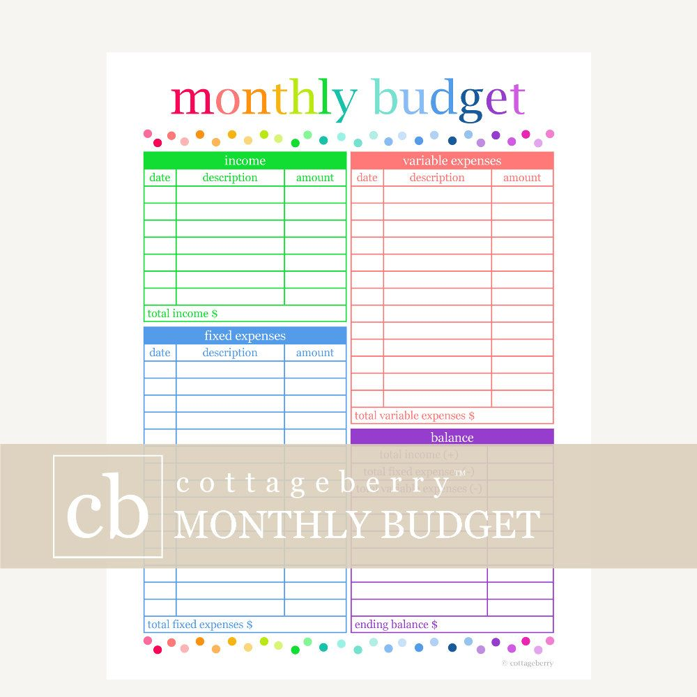picture regarding Happy Planner Budget Printable named Price range Planner, Spending plan Printable, Monthly bill Organizer, Spending plan