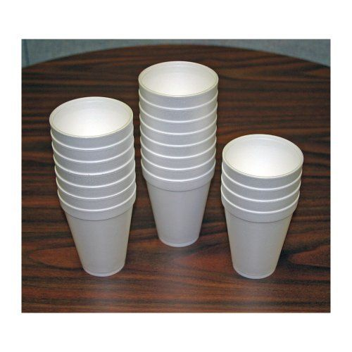 Dart 12 Oz Styrofoam Cups Box Of 1000 By Dart 29 77 Box Of 100 Styrofoam Cups For Your Next Event Gr Home Kitchens Styrofoam Cups Food Service Equipment