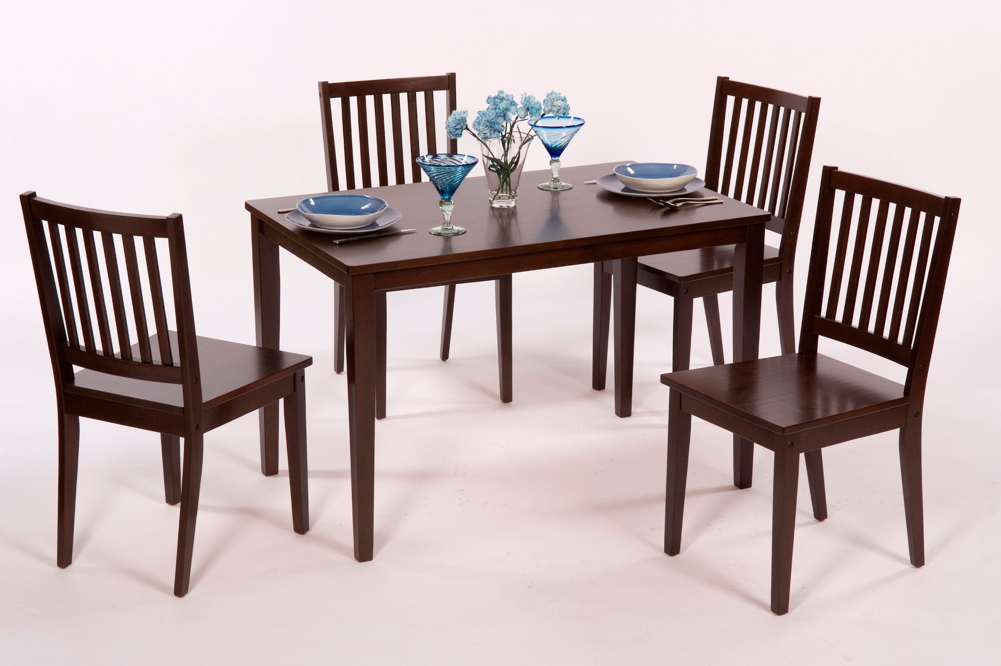 5 Pc Shaker Dining Set Sears Com Real Wood Table 45x28 245