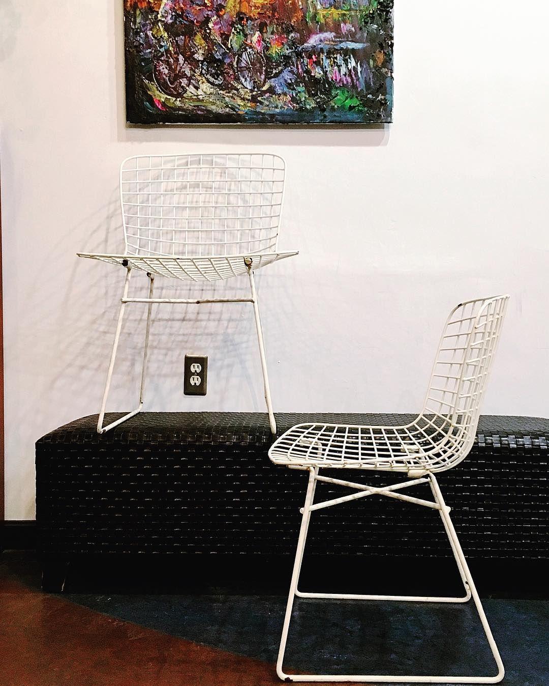 harrybertoia #midcenturymodern #chair #iconic #wire #furniture #mod ...