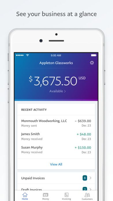 IPhone Screenshot Payment Experience UI UX Pinterest Paypal - Ios invoice app