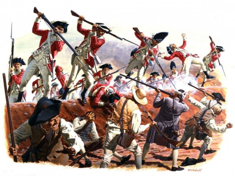 a history of the battle of bunker hill in the american revolutionary war - the battle of bunker hill the battle of bunker's hill was one of the most important battles during the revolutionary war on june 17, 1775, the battle of bunker hill took place fought during the siege of boston, it lent considerable encouragement to the revolutionary cause.