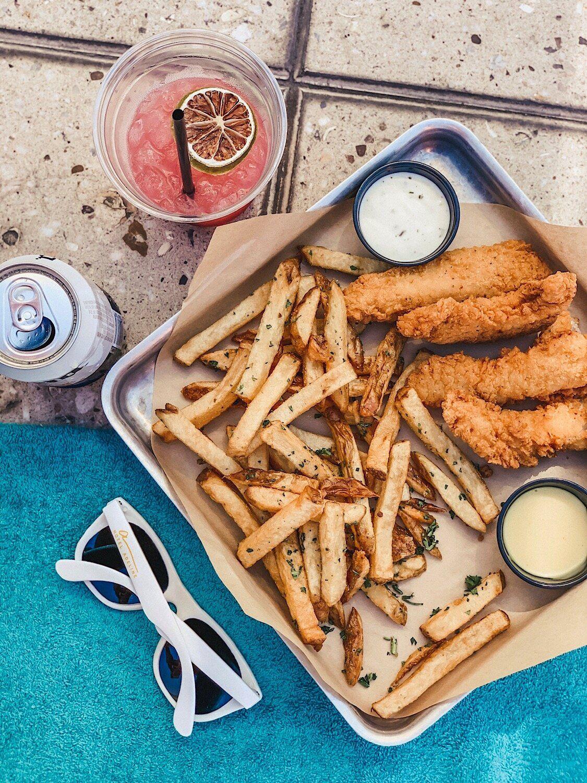 Travel Guide Scottsdale Arizona Poolside Snacks Food And