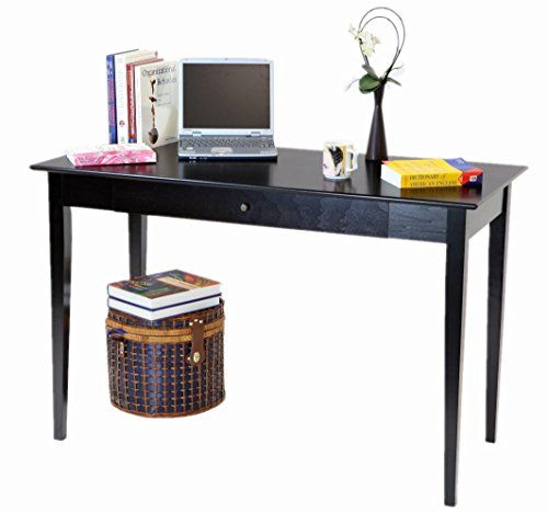 Frenchi Home Furnishing ComputerWriting Desk with Drawer Espresso
