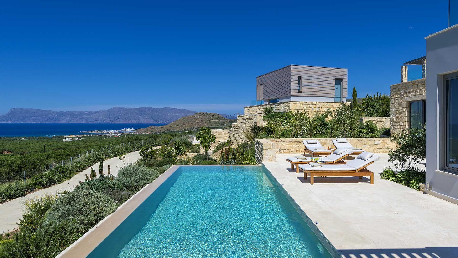 Villa Charisma in Crete Greece villanovo villa luxury
