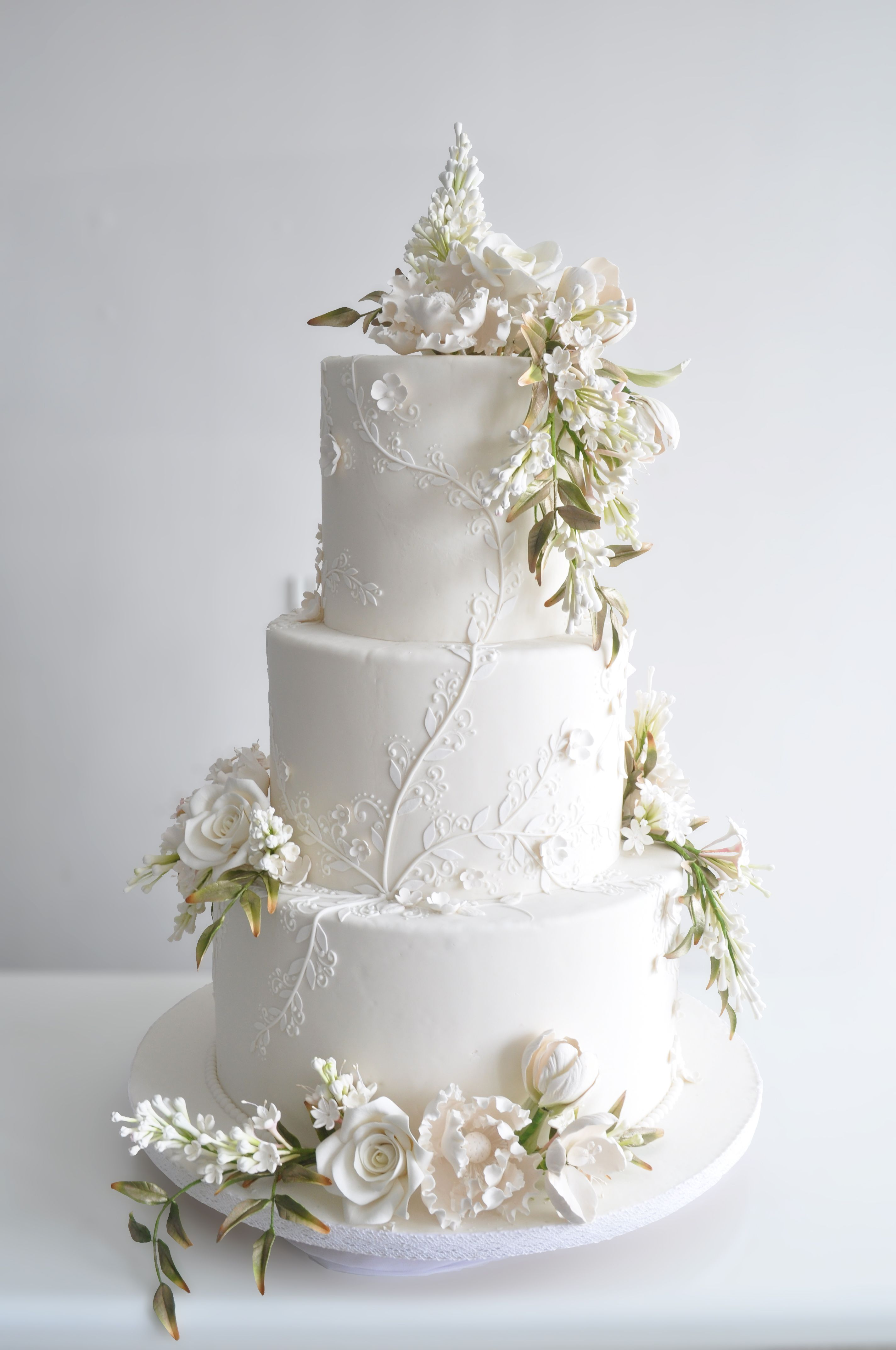 3 Tiers - Le Novelle Cake | Jakarta & Bali Wedding Cake ...
