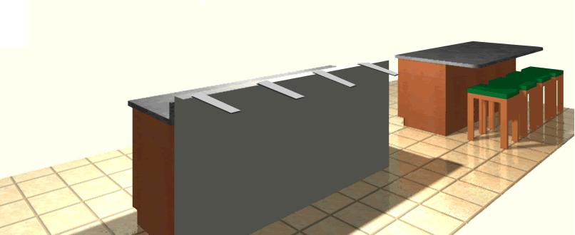 Granite Brackets Hidden Countertop Support Brackets For Overhangs