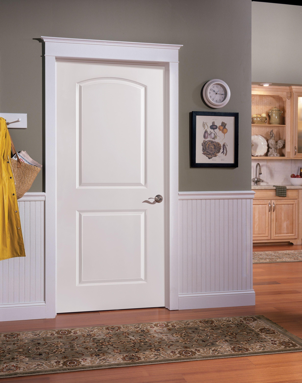 Masonite Classics Series Hfjrs Interior Bedroom Doors Doors Interior Masonite Interior Doors Beadboard Wainscoting