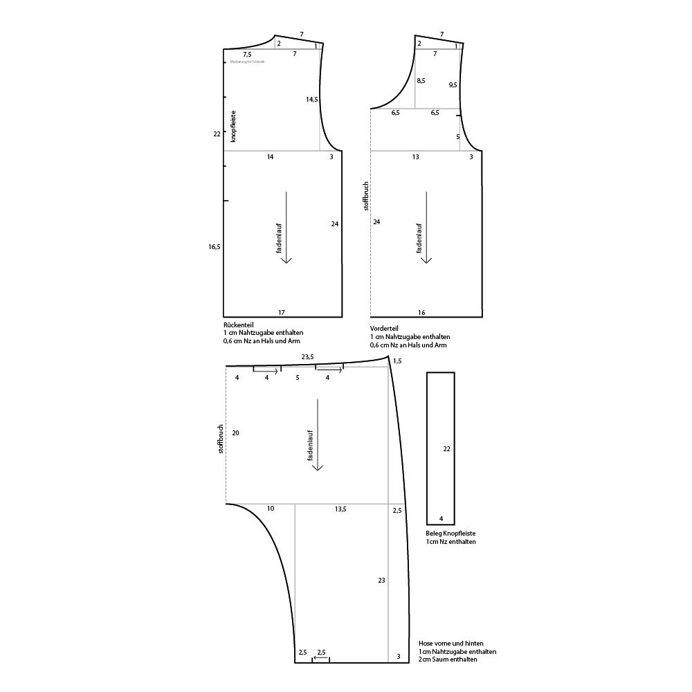 Jeans Jumpsuit - Initiative Handarbeit