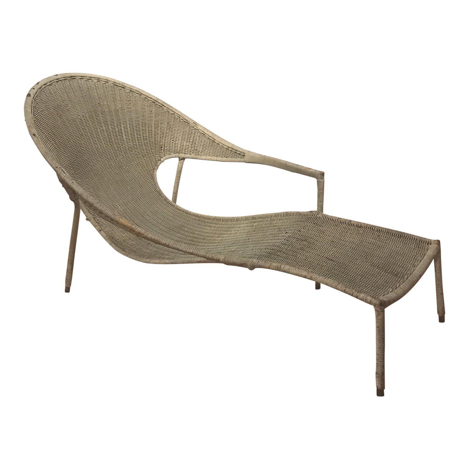 Francis Mair Sculptural Wicker Lounge Chair Outdoor Furniture Rh Pinterest  Com