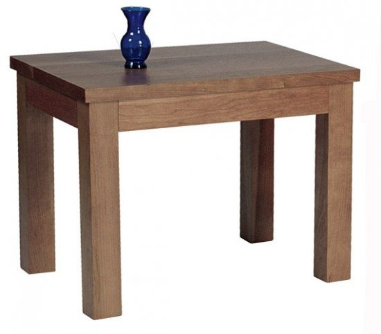 Mission Oak Side Table USA Made Furniture In Natural Oak Cherry - Natural cherry side table