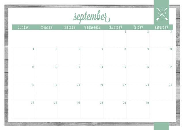 FREE PRINTABLE UPDATED 2016 CALENDARS Decorating Ideas Pinterest - Daily Calendar Printable