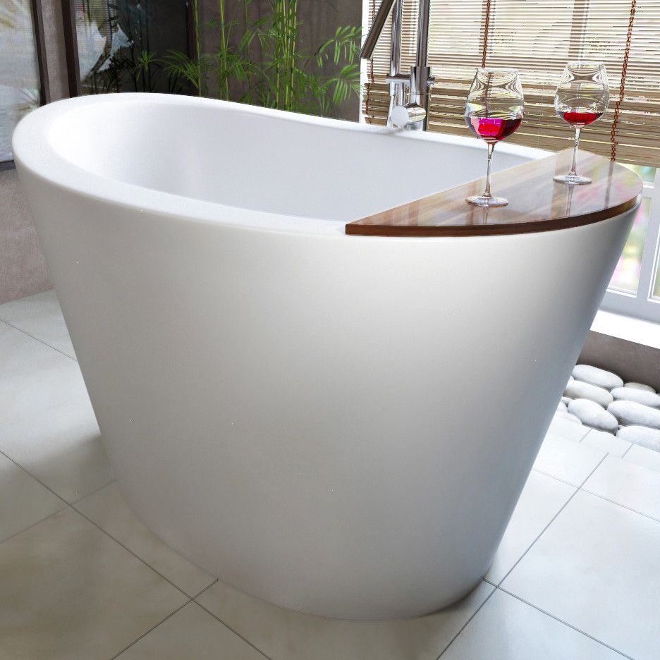 Tall Deep Soaking Bathtub--omg I want this, I dont know how Ill get ...
