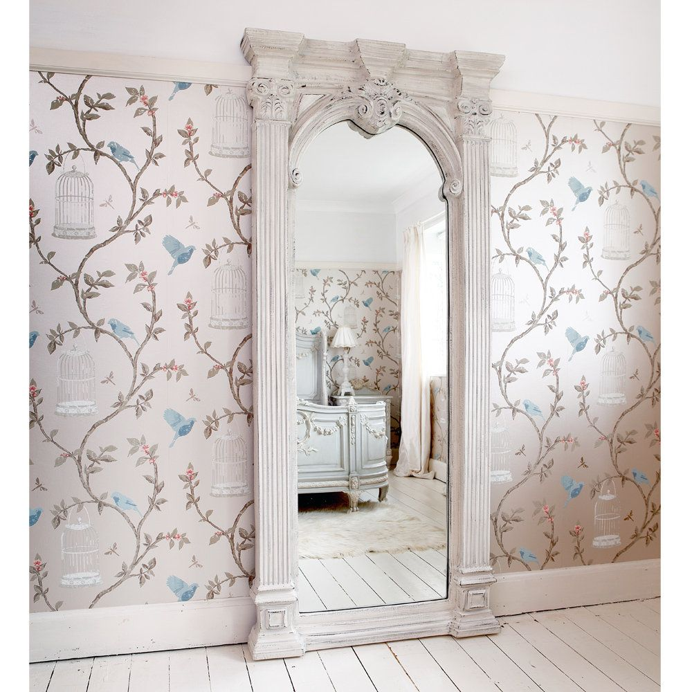 Full length old fashioned mirror bedroom pinterest for Full length wall mirrors for bedroom