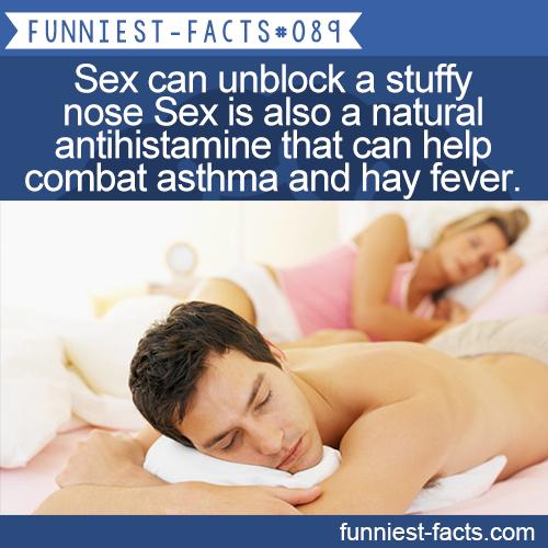 How does antihistamine effect sex