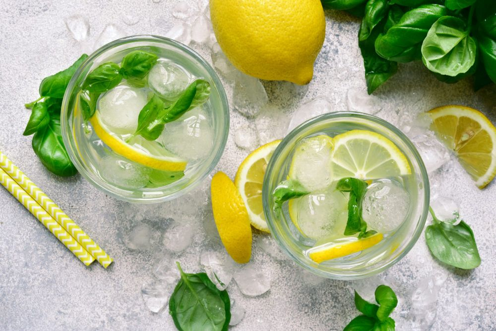 Sparkling Basil Lemonade | State Fair of Texas