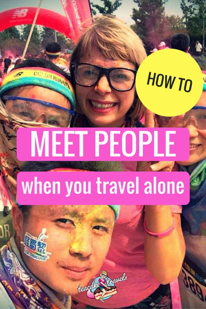 Many solo travelers worry that it is going to be difficult to meet people when traveling alone. It's not! Here's 5 ways to connect with the world you're in.