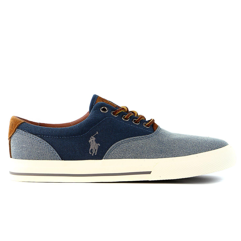 a345084bea84a Polo Ralph Lauren Vaughn Fashion Sneaker Shoe - Mens Moda Masculina Jovem