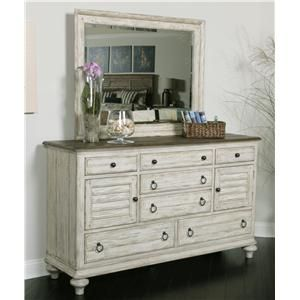 Weatherford Ellesmere Dresser With 6 Drawers And 2 Shutter Style Doors By Kincaid Furniture Kincaid Furniture Furniture Mattress Furniture