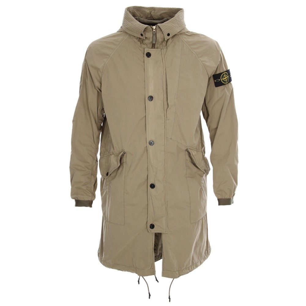 da56a7e66cba6c Stone Island - David Light-TC Parka - Olive - New Season Stone Island  Collection now available at Aphrodite Clothing #stoneisland #parka  #mensfashion