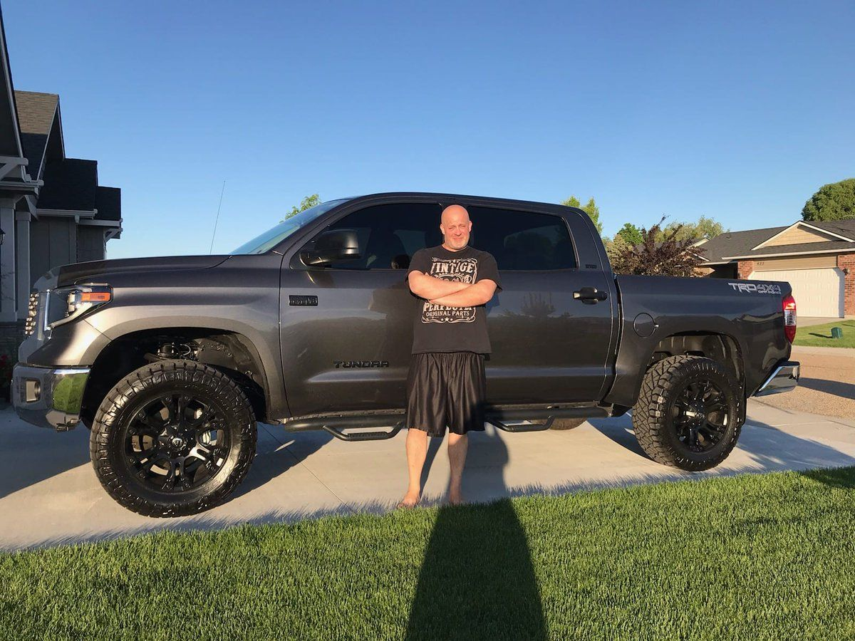 steven just treated themselves to a new car your new toyota tundra was a great choice thank you for lettin in 2020 2012 ford explorer new toyota tundra duramax turbo pinterest