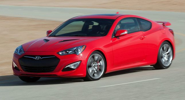 2014 hyundai genesis coupe red 200 interior and exterior images. Black Bedroom Furniture Sets. Home Design Ideas