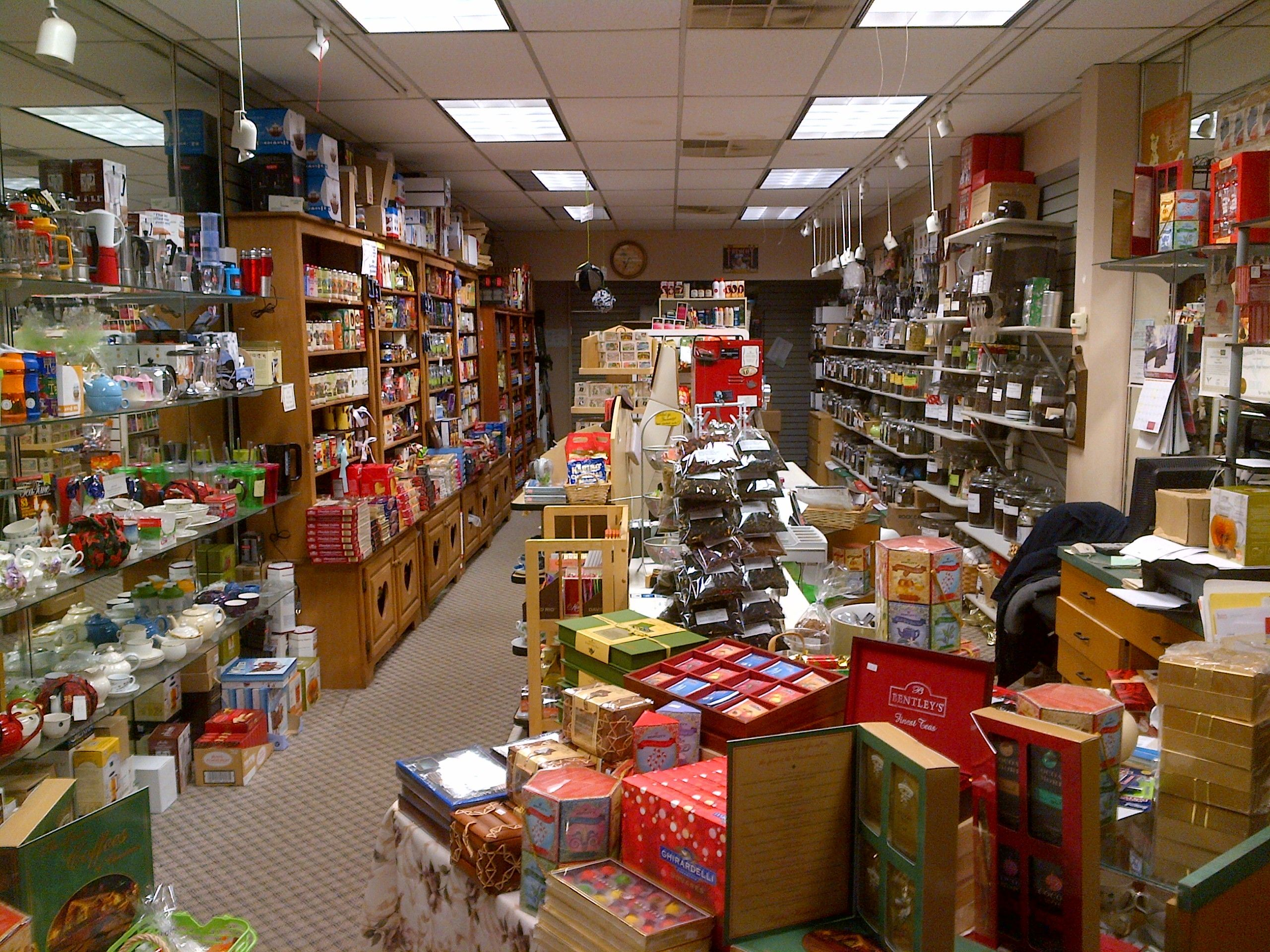 The View Of Tea Pittsburgh Margarets Fine Imports From Front Door Shop Online At