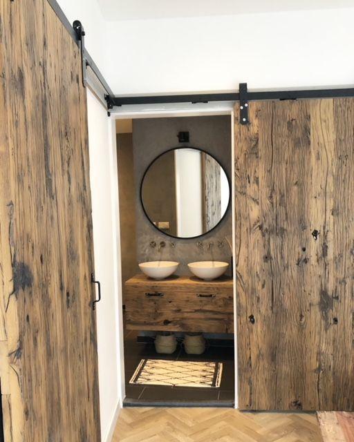 Mogelijk met onze Oud Hout collectie. #tida #parket #deuren #oudhout ...