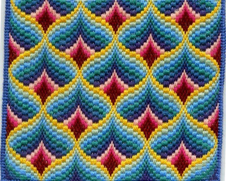 Bargello Embroidery Patterns Pesquisa Google Pinterest