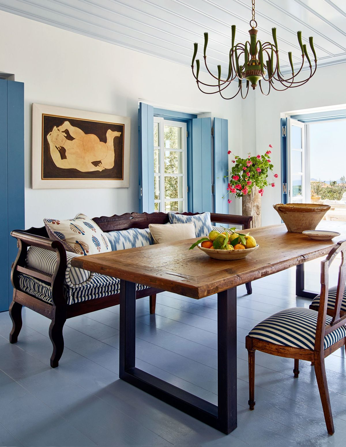 House Tour Refined Relaxed Style In The Greek Islands Coco