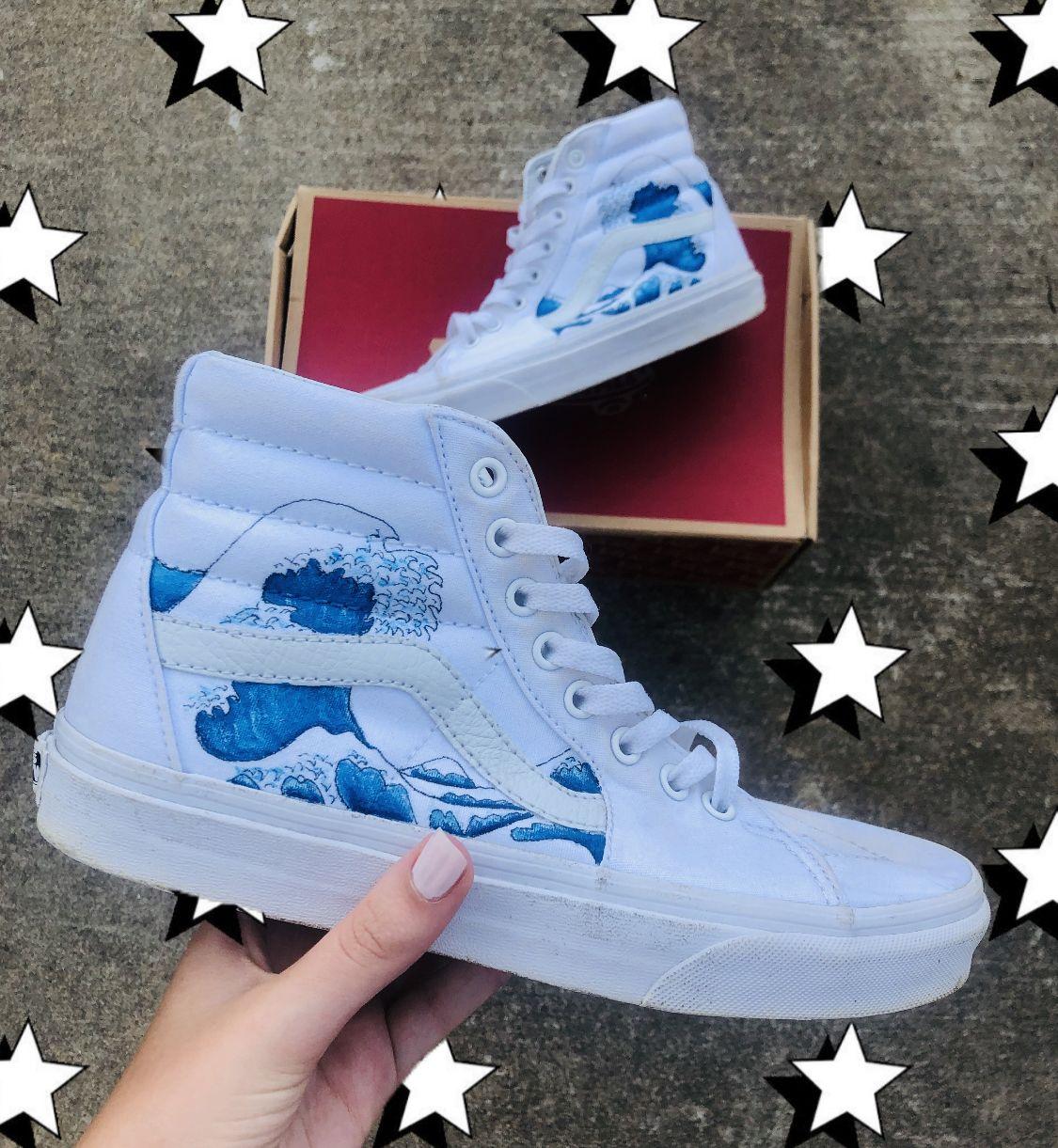 Custom vans shoes, Custom painted shoes