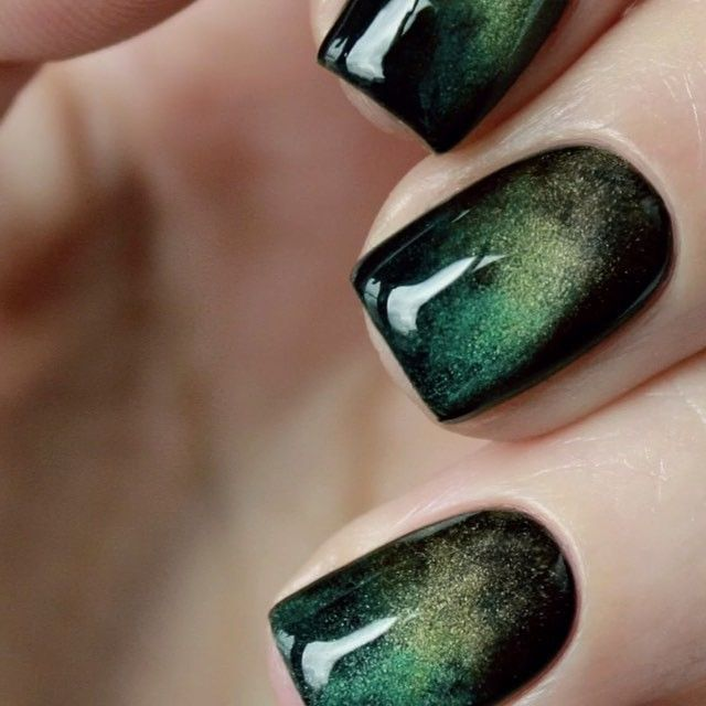 Eye Catchy Magnetic Nail Polish Designs You Will Love To Try | Nail ...