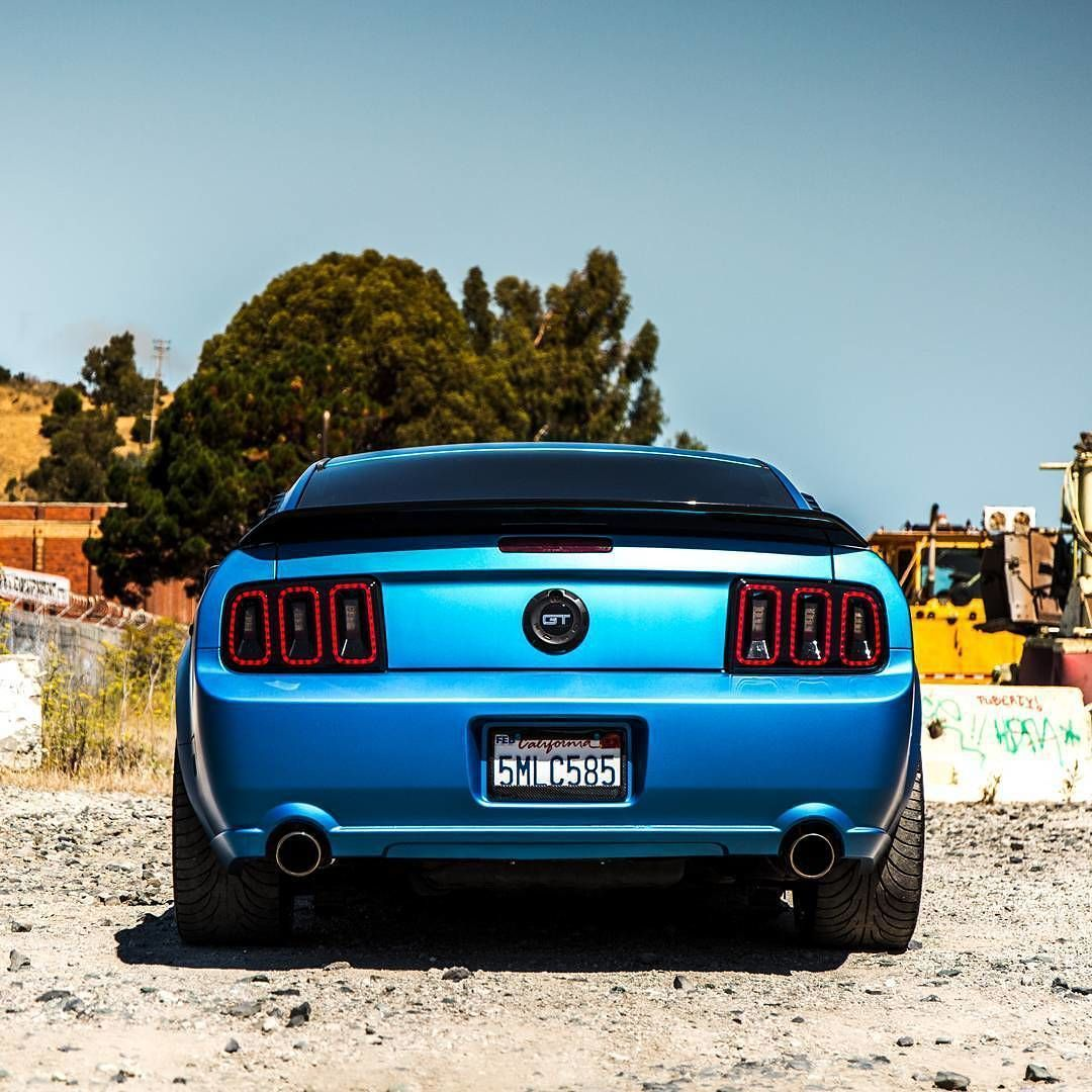 awesome ford mustang gt wrapped in 3m matte metallic blue great rh pinterest com