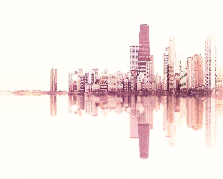 SoundWave Chicago Skyline Sound Wave art