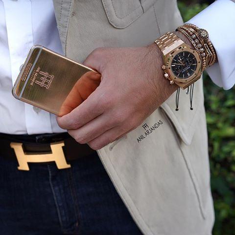Details with Audemars Piguet X Hermes X Tom Ford X @goldenconcept X Anil Arjandas Jewels
