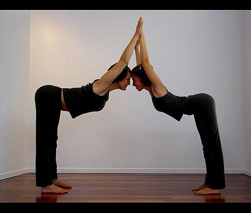 Partner Yoga Poses For Friends And Lovers