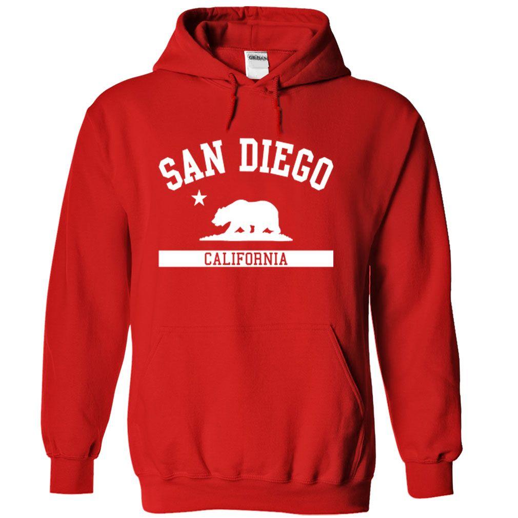 Shirt design san diego - San Diego Hoodie