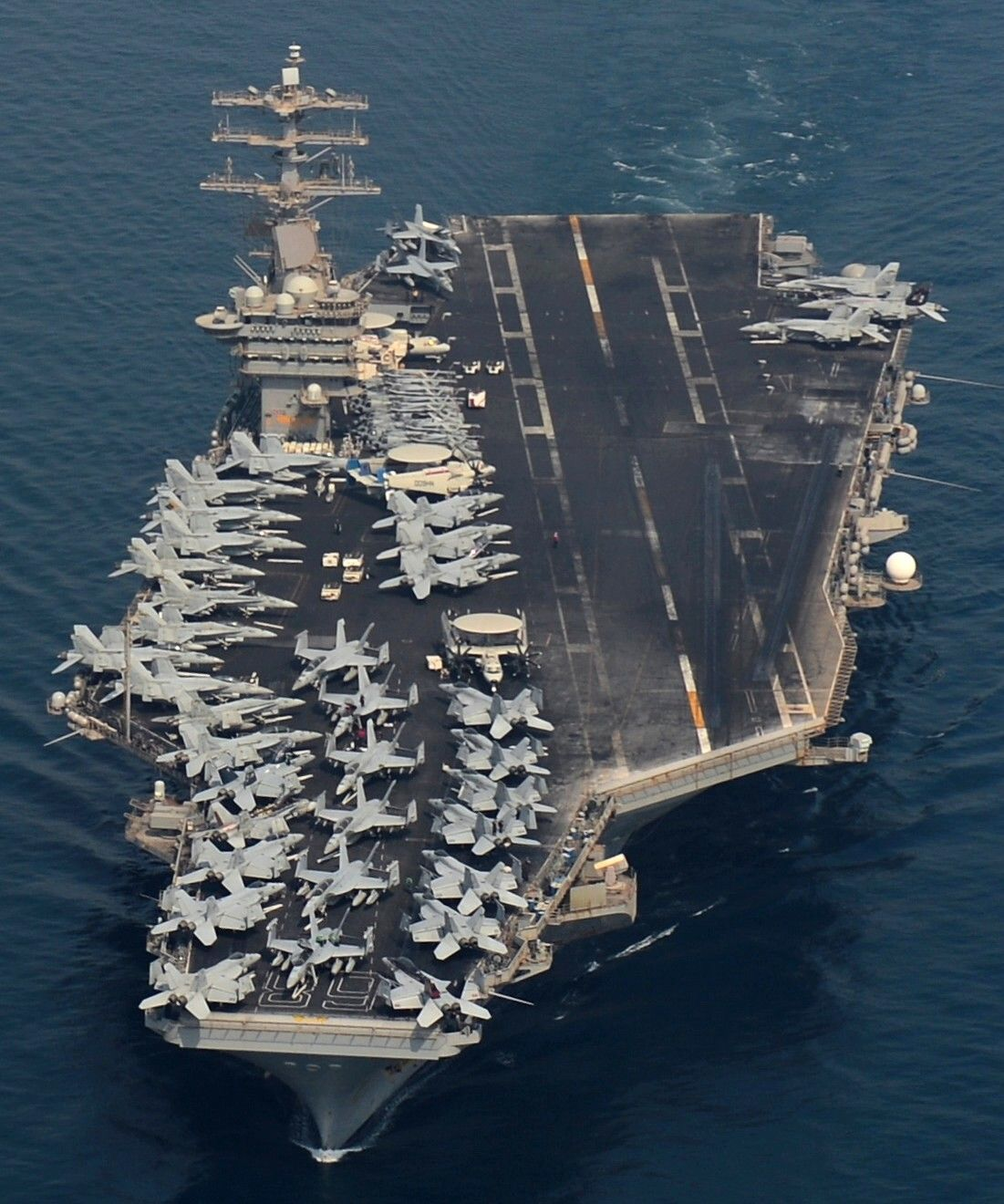 World's one of largest warships USS Nimitz in Indian Ocean to conduct Passex with Indian Navy