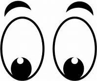 graphic about Eyes Printable referred to as significant printable cartoon eyes - Yahoo Graphic Seem Achievements
