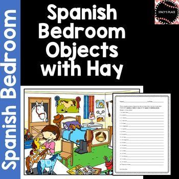 Spanish Bedroom 20 Sentences W Hay El Dormitorio Bedroom