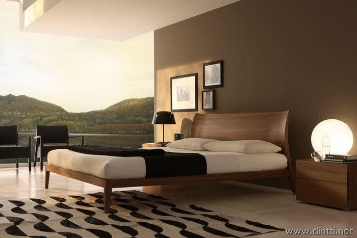 camera da letto » camera da letto bianca e marrone - idee popolari ... - Camera Da Letto Color Tortora