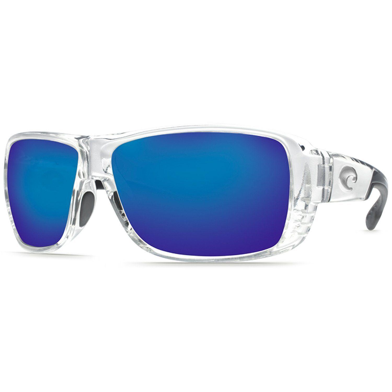 b7c18893f0 Costa Del Mar - Double Haul - Crystal Black Frame- Blue Mirror Glass 400  Lenses