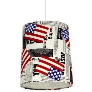Suspension de plafond décor US American: luminaire de chambre d\'ado ...