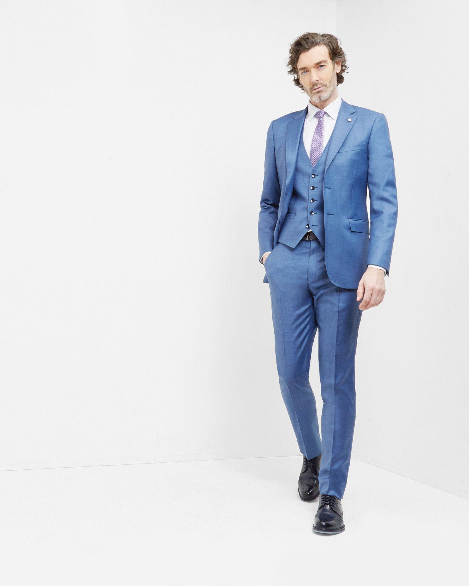 b7f0f2167c96 WedWithTed  Tedbaker  Contest - Debonair wool jacket - Light Blue ...