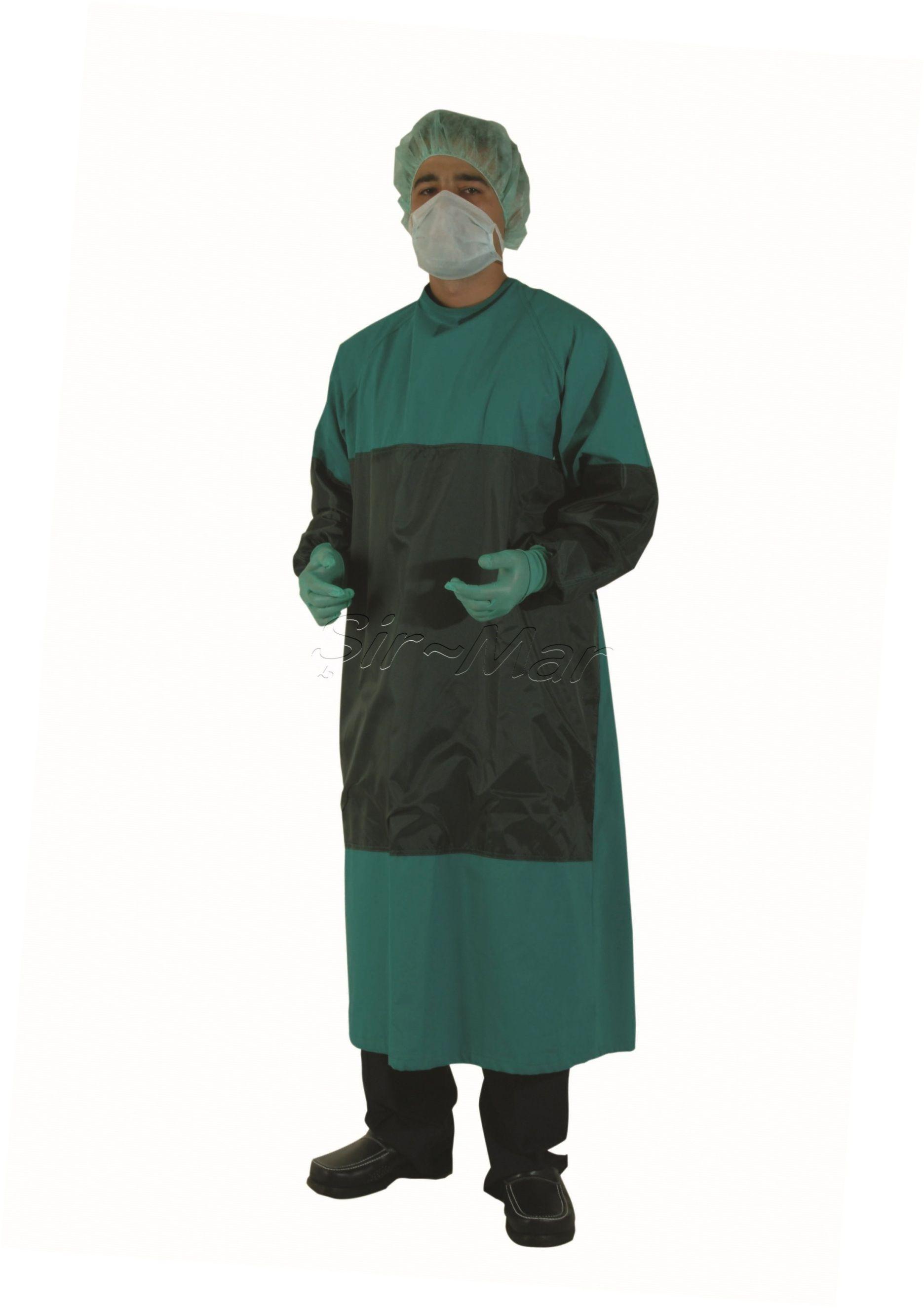 SG-02 SURGICAL GOWN • %100 cotton linen fabric • Autoclavable ...