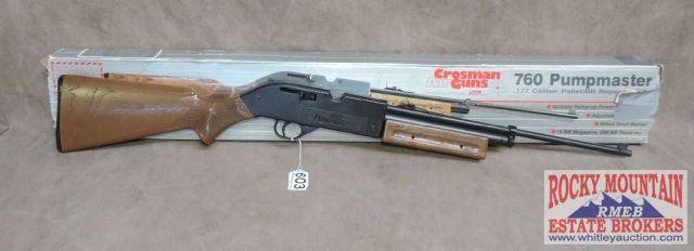 Crosman Vintage Old 760 Pumpmaster Air Rifle  177 BB's
